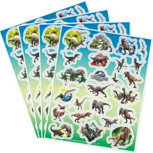 Jurassic World Stickers 4 Sheets