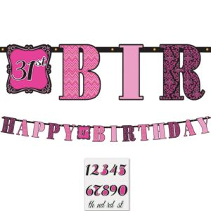 Fabulous Birthday Banner