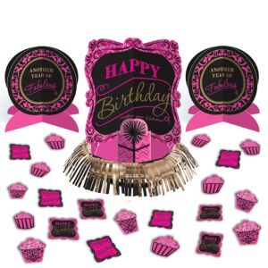 Fabulous Birthday Table Decorating Kit 23pc