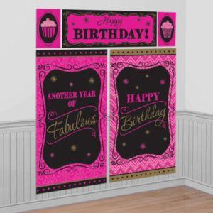 Fabulous Birthday Scene Setter