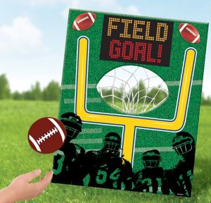 Football Disc Toss Game 5pc