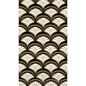 Gold Scalloped Guest Towels 16ct