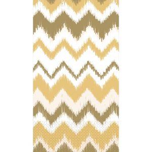 Cream Ikat Chevron Guest Towels 16ct