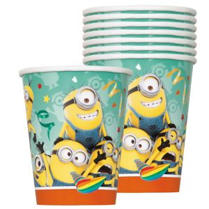 Despicable Me Cups 8ct