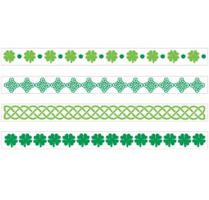 St. Patrick's Day Bracelet Tattoos 2 Sheets
