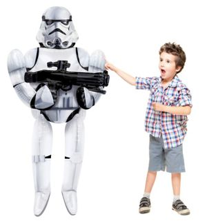 Stormtrooper Balloon - Star Wars 7 The Force Awakens Giant Gliding