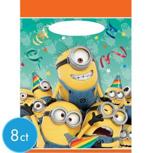 Despicable Me Favor Bags 8ct