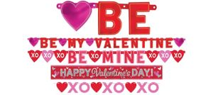 Valentine's Day Banners 4ct