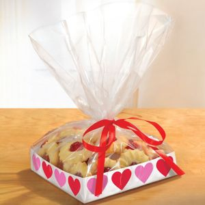 Pink & Red Heart Treat Trays 2ct
