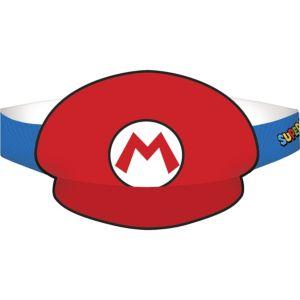 Mario & Luigi Party Hats 8ct - Super Mario