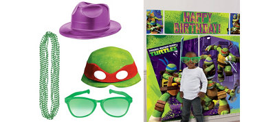 Teenage Mutant Ninja Turtles Photo Booth Kit