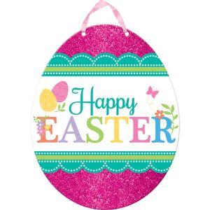 Glitter Egg-citing Easter Sign