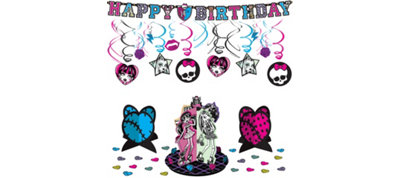 Monsters High Party Decorations Kit