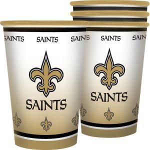 New Orleans Saints Tumblers 4ct