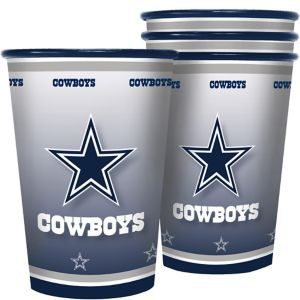 Dallas Cowboys Tumblers 4ct