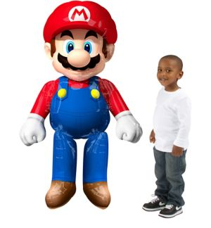 Super Mario Balloon - Giant Gliding