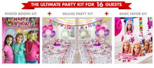 Barbie Ultimate Party Kit for 16 Guests