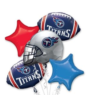 Tennessee Titans Balloon Bouquet 5pc