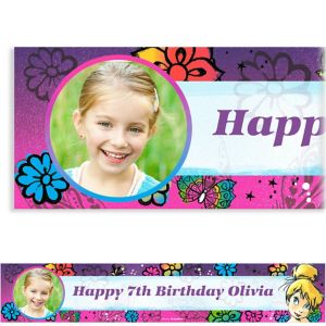 Custom Tinkerbell Keep Flying Photo Banner