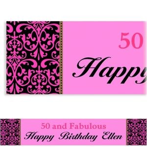 Custom Fabulous Celebration Banner