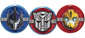 Transformers Honeycomb Decorations 3ct