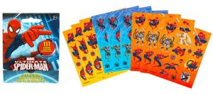 Spider-Man Sticker Book 9 Sheets