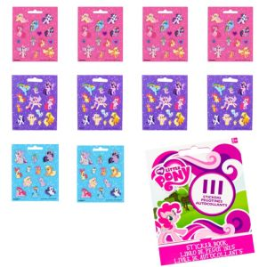 My Little Pony Sticker Book 9 Sheets