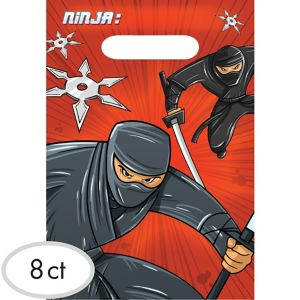 Ninja Favor Bags 8ct