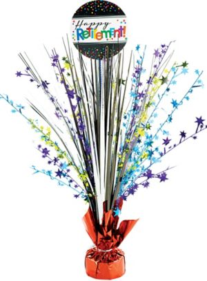 Happy Retirement Celebration Spray Centerpiece