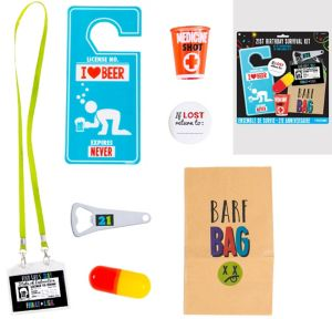 21st Birthday Survival Kit 7pc