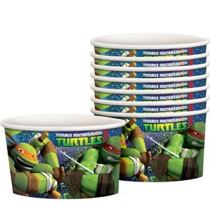 Teenage Mutant Ninja Turtles Treat Cups 8ct