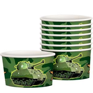 Camouflage Treat Cups 8ct