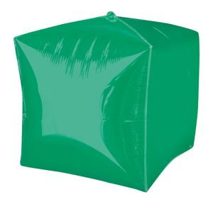 Festive Green Cubez Balloon