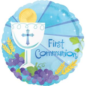 Boy's First Communion Balloon