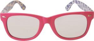 Pink & Purple Pineapple Mirrored Sunglasses