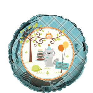 Boy Birthday Balloon - Happi Woodland