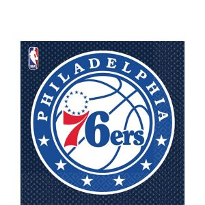Philadelphia 76ers Lunch Napkins 36ct