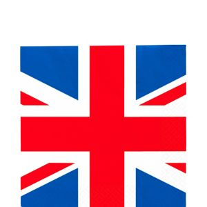 Union Jack Lunch Napkins 16ct - Great Britain