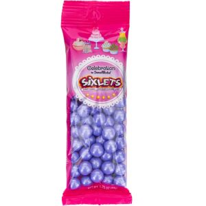 Purple Shimmer Sixlets 56pc