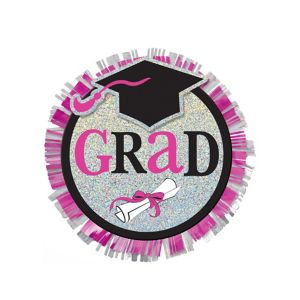 Sparkling Celebration Graduation Button