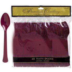 Berry Premium Plastic Spoons 48ct