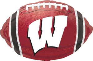 Wisconsin Badgers Balloon - Football