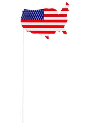 American Flag USA Yard Stake