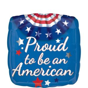 Proud To Be An American Patriotic Balloon