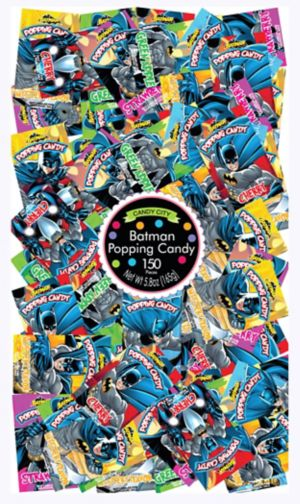 Batman Popping Candy 150ct