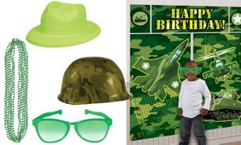 Camo Photo Booth Kit