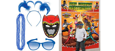Power Rangers Photo Booth Kit