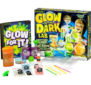 Glow-in-the-Dark Science Lab 21pc