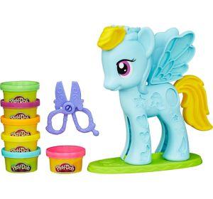 Play-Doh Rainbow Dash Style Salon Playset 8pc - My Little Pony