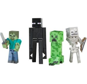 Hostile Mobs Pack Minecraft Playset 6pc